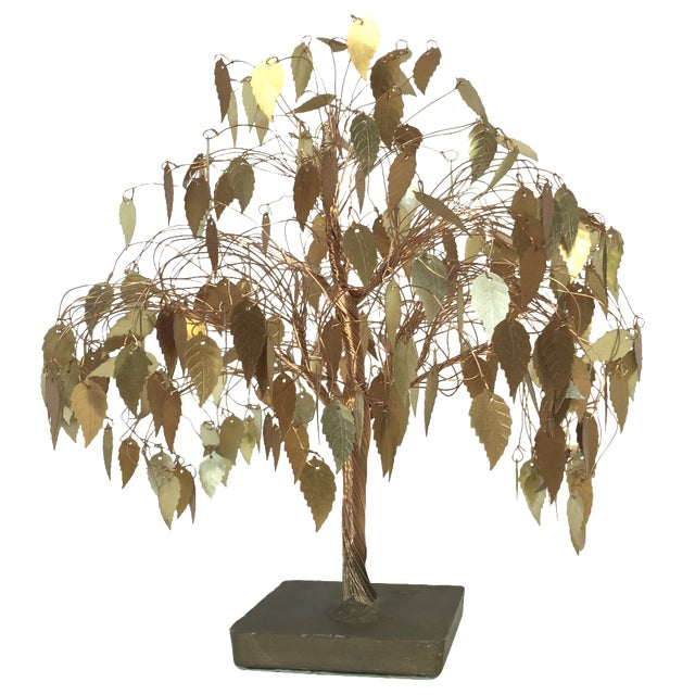 Vintage Wire Tree Sculpture - Image 1 of 4