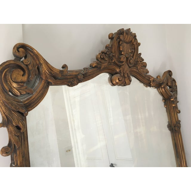 Gold Chinoiserie Full Length Mirror - Image 3 of 5