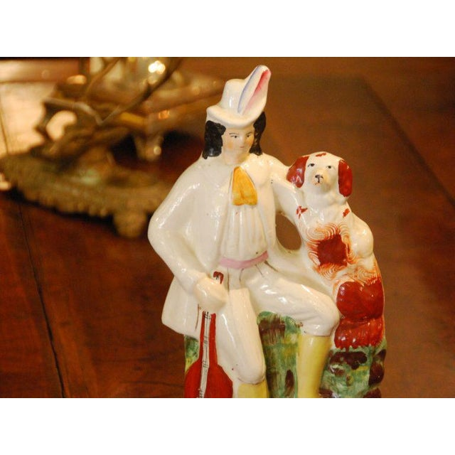 English 19th Century English Staffordshire Figure For Sale - Image 3 of 4