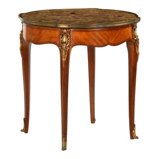 French Louis XV Gueridon Side Table C. 1900 For Sale