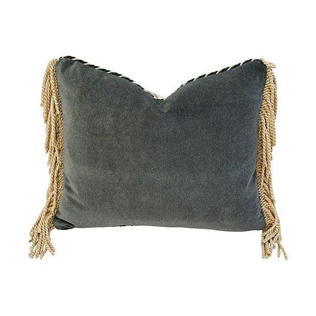 Custom Brunschwig & Fils Toile Boudoir Pillow - Image 6 of 6