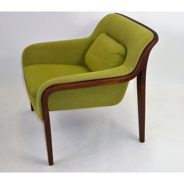 Bentwood 1970s Vintage Bill Stephens For Knoll International Club Lounge Chair For Sale - Image 7 of 12