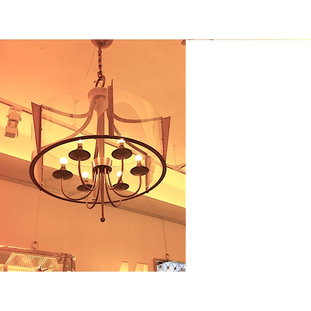 1940s Raymond Subes Rare, Superb Neoclassic 1940s Chandelier For Sale - Image 5 of 7