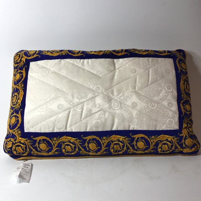 Versace Silk Pillow Cover - Image 2 of 7