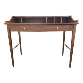 1960s Swedish Modern Jack Cartwright for Foundars Furniture Writing Desk For Sale