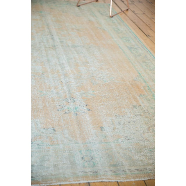 """Vintage Distressed Oushak Carpet - 6'4"""" X 9'10"""" For Sale In New York - Image 6 of 12"""