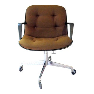 Remington Rand Executive Swivel Reclining Chair With Casters