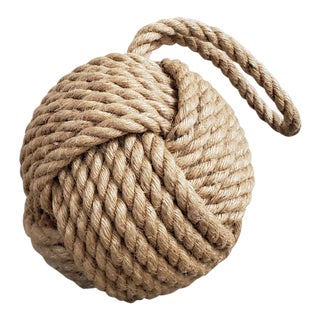 Monkey Fist Nautical Rope Knot Decor For Sale