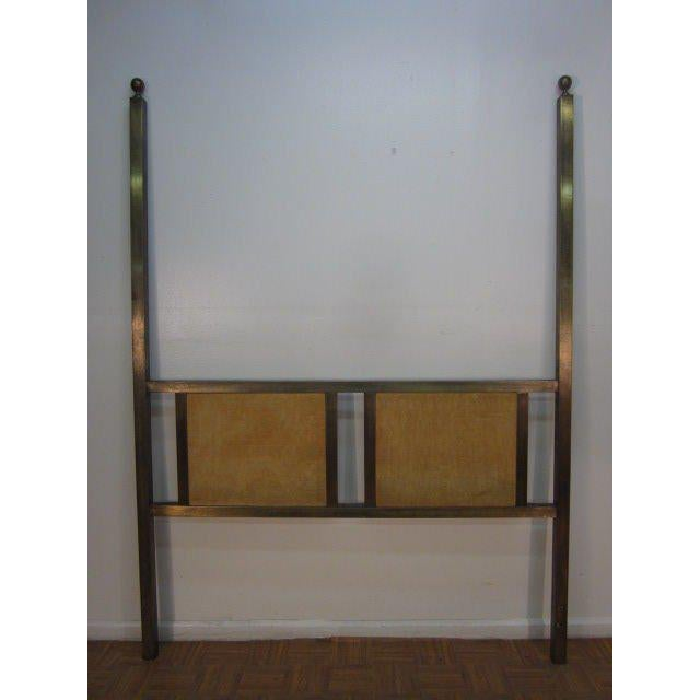Mastercraft Brass Headboard For Sale In New York - Image 6 of 6
