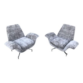 Mid Century Modern Style Swivel Chairs For Sale