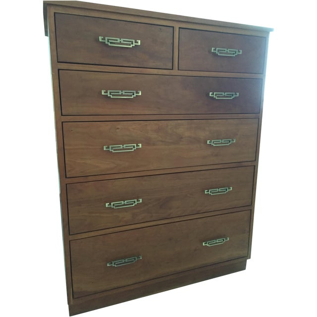 Room and Board Linear Cherry Dresser - Image 1 of 4