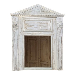 19th Century French Classical Trumeau For Sale