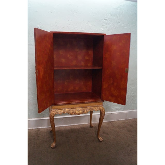 Maitland Smith Hand-Painted Chinoiserie Cabinet For Sale - Image 5 of 10