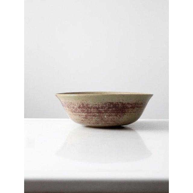 Mid-Century Studio Pottery Bowl - Image 4 of 6