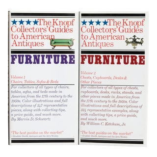 Furniture 1 & 2, the Knopf Collectors' Guides to American Antiques For Sale