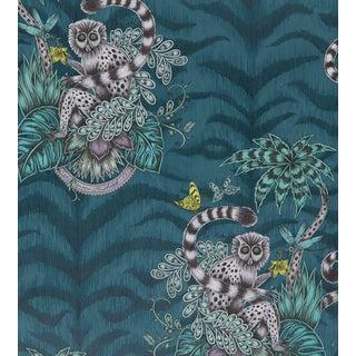 Emma J Shipley Lemur Wallpaper by Clarke & Clarke - Sample For Sale