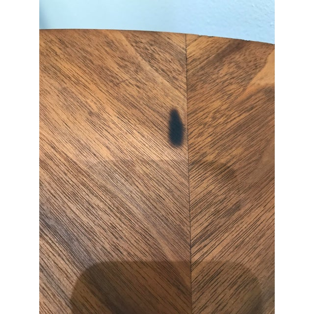 Brown Mid-Century Modern B P John Wood Dining Table For Sale - Image 8 of 12