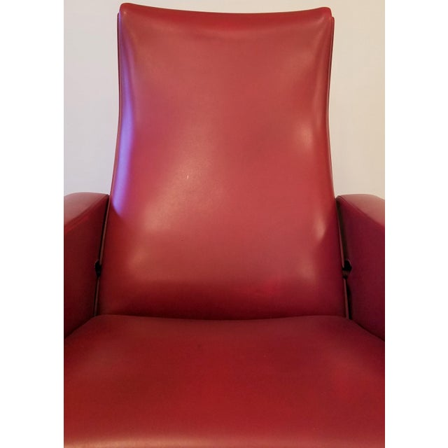"""Vintage Pierre Guariche """"Trelax"""" Reclining Lounge Chair For Sale - Image 11 of 12"""