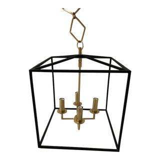 Modern Brass + Gold Pendant by Becki Owens for Hudson Valley Lighting For Sale