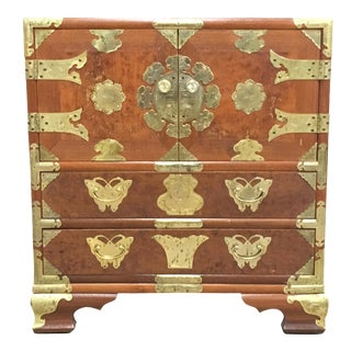 Antique Asian Side Table / Nightstand