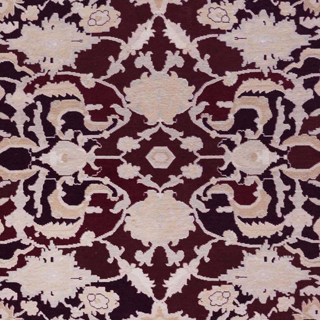 MANSOUR Handwoven Persian Agra Rug For Sale - Image 4 of 8