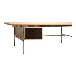 Preben Fabricius and Jorgen Kastholm Writing Table For Sale