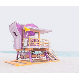 Contemporary 'South Beach, 12st' Edition Size 10 Photography by Kristin Hart, 40x34 For Sale