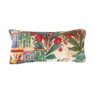 Lorenzo Rubelli Tsarevich Italian Fabric Lumbar Pillow For Sale