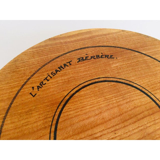 Artisan House Massive Large Round African Primitive Hand Hewn Wood Dough Bowl For Sale - Image 4 of 13