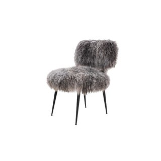 Modern Pasargad Home Sorrento Allesia Grey Chair For Sale