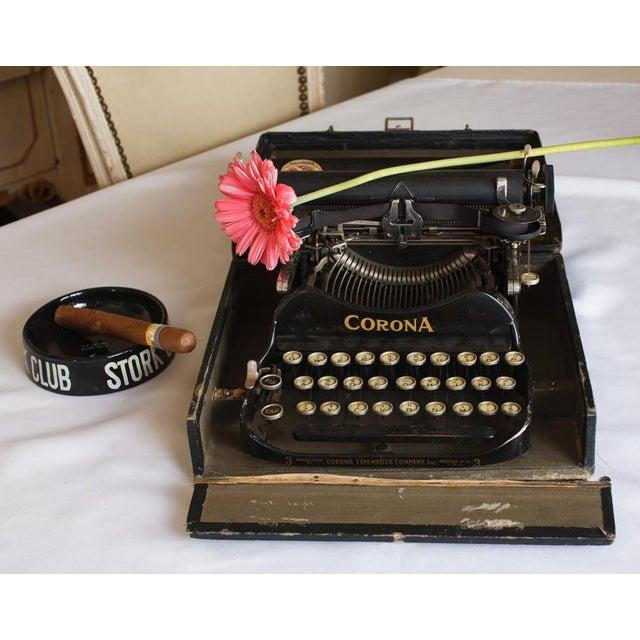 1912 Corona Portable Folding Typewriter For Sale - Image 9 of 9