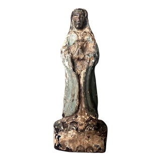Medieval Black Madonna of Poland, 13th Century For Sale