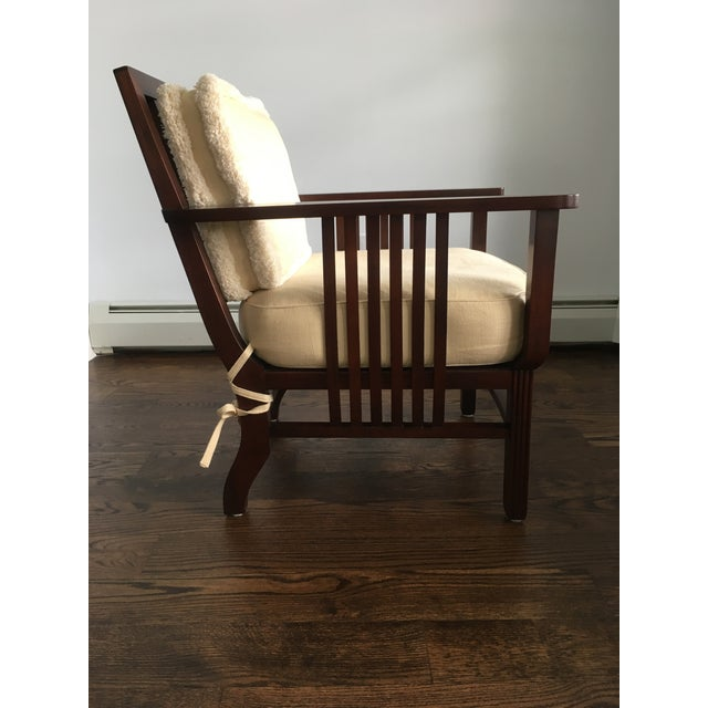 Mariette Himes Gomez Slat Back Chair - Image 6 of 6
