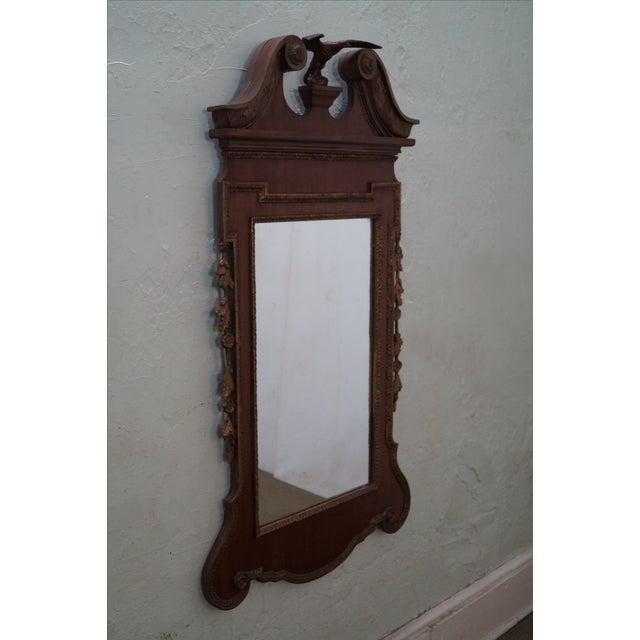 Antique Mahogany Georgian George III Style Mirror - Image 2 of 10