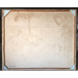 Large Neutral Abstract Signed Circa 1960 Preview