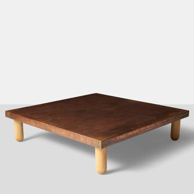 Lorenzo Burchiellaro Copper Coffee Table by Lorenzo Burchiellaro For Sale - Image 4 of 8