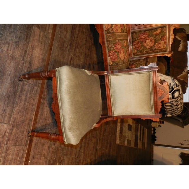 Eastlake Parlor Sofa & Chairs Set For Sale In Dallas - Image 6 of 13