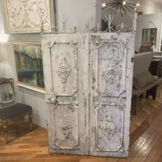 1880s Vintage French Decorative Garden Gate For Sale - Image 12 of 12