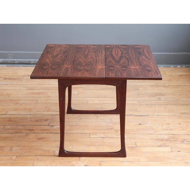 Folding Rosewood Occasional Table by J. Ingvard Jensen - Image 2 of 5