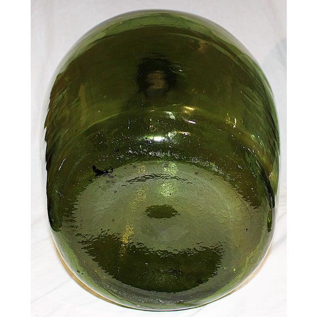 Demijohn Antique Blown Glass Bottle - Image 5 of 5