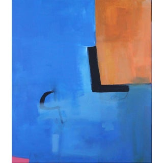 """""""I Can Walk Through Walls"""" Contemporary Abstract Acrylic Painting by Carolyn Reed Barritt For Sale"""