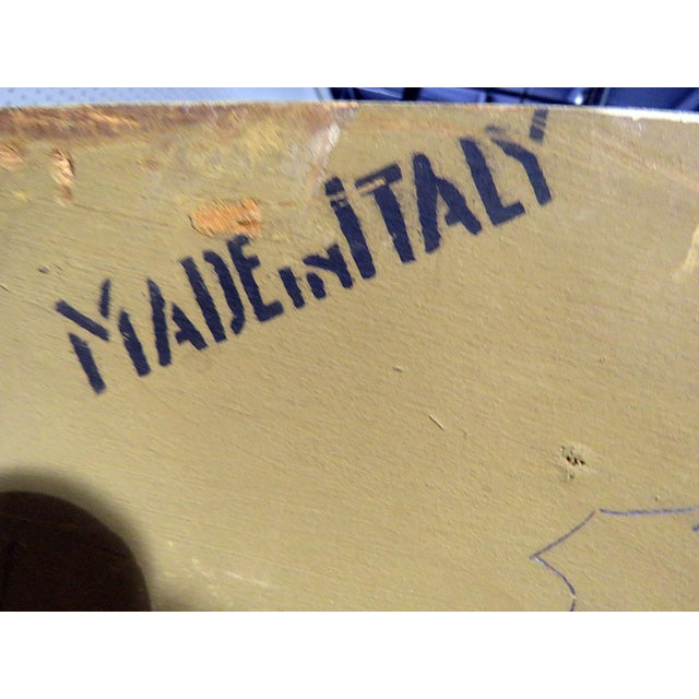 Italian Trumeau Wall Mirror For Sale - Image 4 of 6