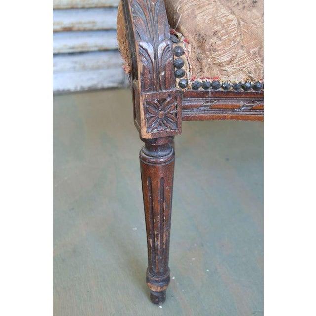 Louis XVI Style Armchair - Image 3 of 9