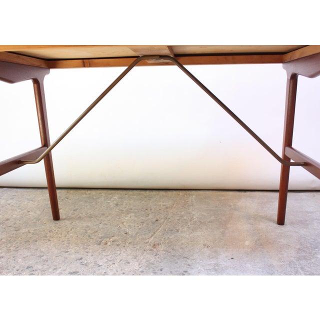 Teak and Brass 'Ladies' Desk by Arne Wahl Iversen - Image 8 of 13