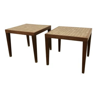 1960s Mid-Century Modern Martz Side Tables - a Pair For Sale