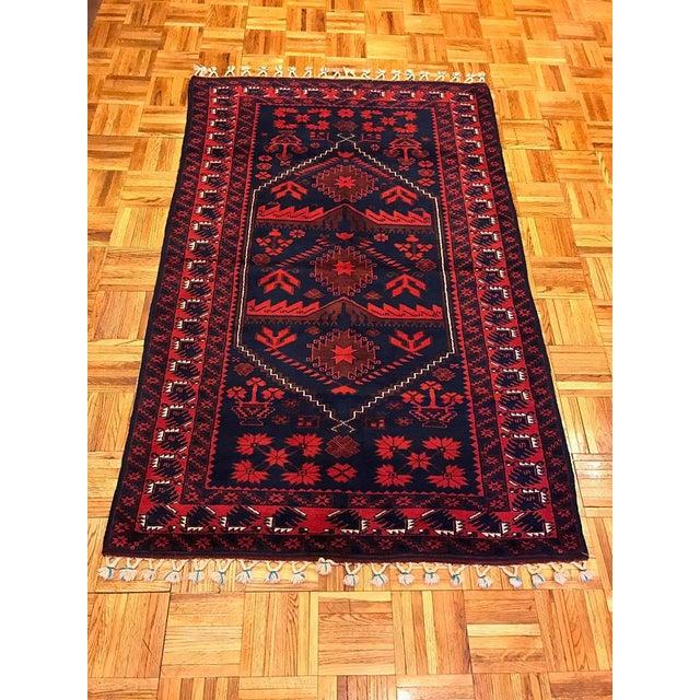 Antique Anatolian Bergama Wool Rug - 4'x6' - Image 2 of 6