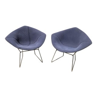 Bertoia Diamond Chairs for Knoll - A Pair