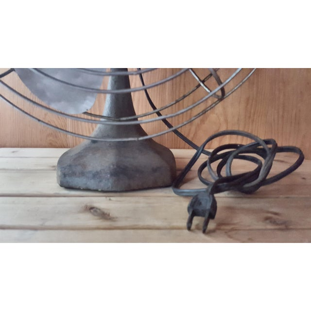 American Classical Vintage Manning Bowman Industrial Fan For Sale - Image 3 of 8