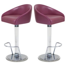 Image of Silver Bar Stools