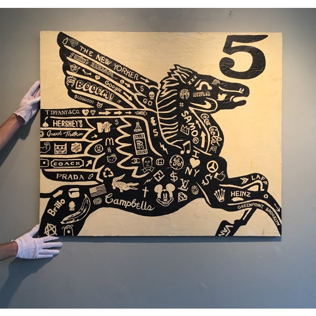 Contemporary Pegasus 5 by Jacob Thomas For Sale - Image 3 of 5